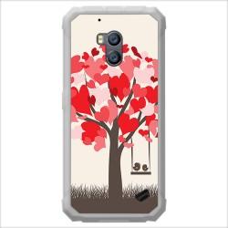 Funda Gel Tpu para Ulefone Armor X2 diseño Pajaritos Dibujos