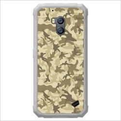 Funda Gel Tpu para Ulefone Armor X2 diseño Sand Camuflaje Dibujos