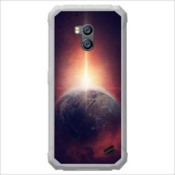 Funda Gel Tpu para Ulefone Armor X2 diseño Tierra Dibujos