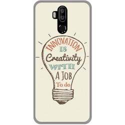 Funda Gel Tpu para Leagoo M13 diseño Creativity Dibujos