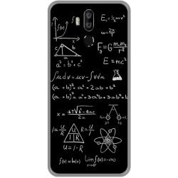 Funda Gel Tpu para Leagoo M13 diseño Formulas Dibujos