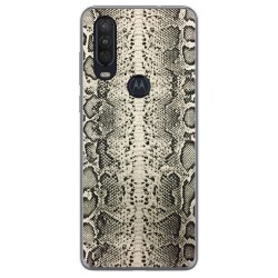 Funda Gel Tpu para Motorola One Action diseño Animal 01 Dibujos
