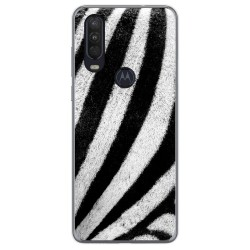Funda Gel Tpu para Motorola One Action diseño Animal 02 Dibujos