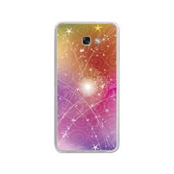 Funda Gel Tpu para Samsung Galaxy A3 (2017) Diseño Abstracto Dibujos