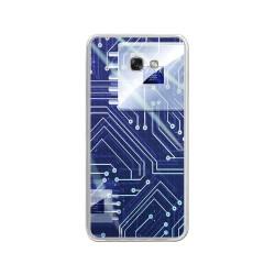 Funda Gel Tpu para Samsung Galaxy A3 (2017) Diseño Circuito Dibujos