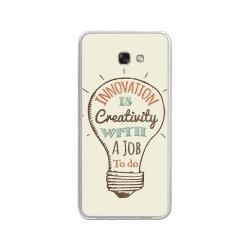 Funda Gel Tpu para Samsung Galaxy A3 (2017) Diseño Creativity Dibujos
