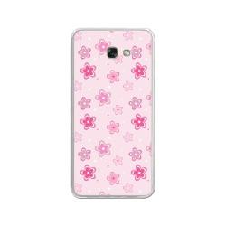 Funda Gel Tpu para Samsung Galaxy A3 (2017) Diseño Flores Dibujos