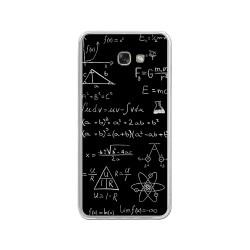 Funda Gel Tpu para Samsung Galaxy A3 (2017) Diseño Formulas Dibujos