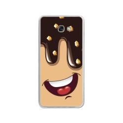 Funda Gel Tpu para Samsung Galaxy A3 (2017) Diseño Helado Chocolate Dibujos