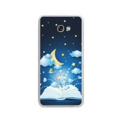Funda Gel Tpu para Samsung Galaxy A3 (2017) Diseño Libro-Cuentos Dibujos