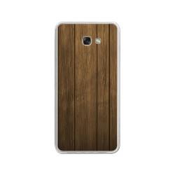 Funda Gel Tpu para Samsung Galaxy A3 (2017) Diseño Madera Dibujos