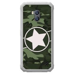 Funda Gel Tpu para Ulefone Armor X2 diseño Camuflaje 01 Dibujos