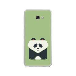 Funda Gel Tpu para Samsung Galaxy A3 (2017) Diseño Panda Dibujos