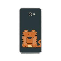 Funda Gel Tpu para Samsung Galaxy A3 (2017) Diseño Tigre Dibujos