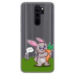 Funda Gel Transparente para Xiaomi Redmi Note 8 Pro diseño Conejo Dibujos