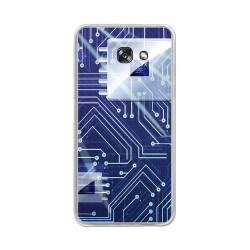 Funda Gel Tpu para Samsung Galaxy A5 (2017) Diseño Circuito Dibujos