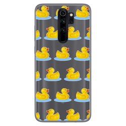 Funda Gel Transparente para Xiaomi Redmi Note 8 Pro diseño Pato Dibujos