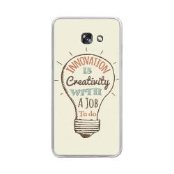 Funda Gel Tpu para Samsung Galaxy A5 (2017) Diseño Creativity Dibujos