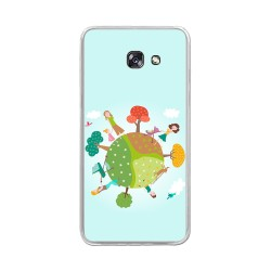 Funda Gel Tpu para Samsung Galaxy A5 (2017) Diseño Familia Dibujos