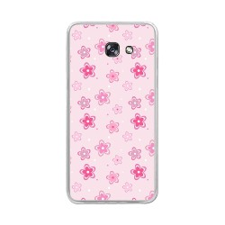 Funda Gel Tpu para Samsung Galaxy A5 (2017) Diseño Flores Dibujos