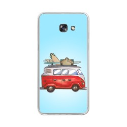 Funda Gel Tpu para Samsung Galaxy A5 (2017) Diseño Furgoneta Dibujos