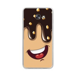 Funda Gel Tpu para Samsung Galaxy A5 (2017) Diseño Helado Chocolate Dibujos