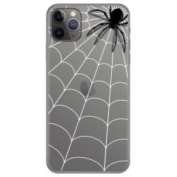 Funda Gel Transparente para Iphone 11 Pro (5.8) diseño Araña Dibujos