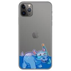 Funda Gel Transparente para Iphone 11 Pro (5.8) diseño Hipo Dibujos