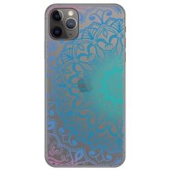 Funda Gel Transparente para Iphone 11 Pro (5.8) diseño Mandala Dibujos