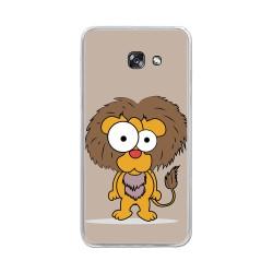 Funda Gel Tpu para Samsung Galaxy A5 (2017) Diseño Leon Dibujos