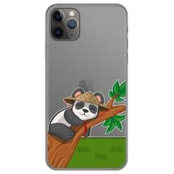 Funda Gel Transparente para Iphone 11 Pro (5.8) diseño Panda Dibujos