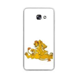Funda Gel Tpu para Samsung Galaxy A5 (2017) Diseño Leones Dibujos