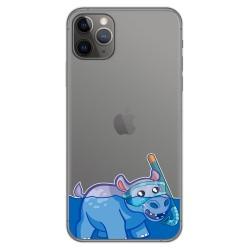 Funda Gel Transparente para Iphone 11 Pro Max (6.5) diseño Hipo Dibujos