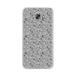 Funda Gel Tpu para Samsung Galaxy A5 (2017) Diseño Letras Dibujos