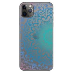 Funda Gel Transparente para Iphone 11 Pro Max (6.5) diseño Mandala Dibujos