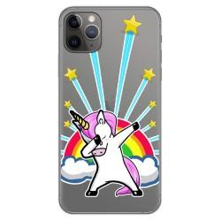 Funda Gel Transparente para Iphone 11 Pro Max (6.5) diseño Unicornio Dibujos