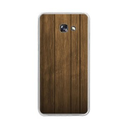 Funda Gel Tpu para Samsung Galaxy A5 (2017) Diseño Madera Dibujos