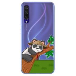 Funda Gel Transparente para Xiaomi Mi 9 Lite diseño Panda Dibujos