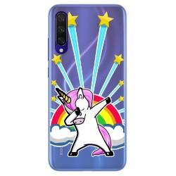 Funda Gel Transparente para Xiaomi Mi 9 Lite diseño Unicornio Dibujos