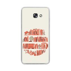 Funda Gel Tpu para Samsung Galaxy A5 (2017) Diseño Mundo-Libro Dibujos