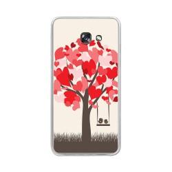Funda Gel Tpu para Samsung Galaxy A5 (2017) Diseño Pajaritos Dibujos