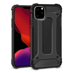 Funda Tipo Hybrid Tough Armor (Pc+Tpu) Negra para Iphone 11 Pro Max (6.5)