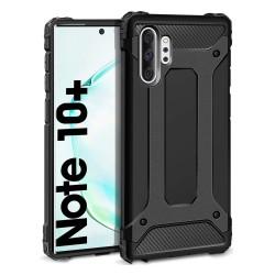 Funda Tipo Hybrid Tough Armor (Pc+Tpu) Negra para Samsung Galaxy Note10+