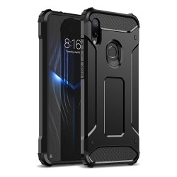 Funda Tipo Hybrid Tough Armor (Pc+Tpu) Negra para Xiaomi Redmi Note 7