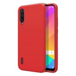 Funda Silicona Líquida Ultra Suave para Xiaomi Mi A3 color Roja