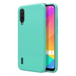 Funda Silicona Líquida Ultra Suave para Xiaomi Mi A3 color Verde