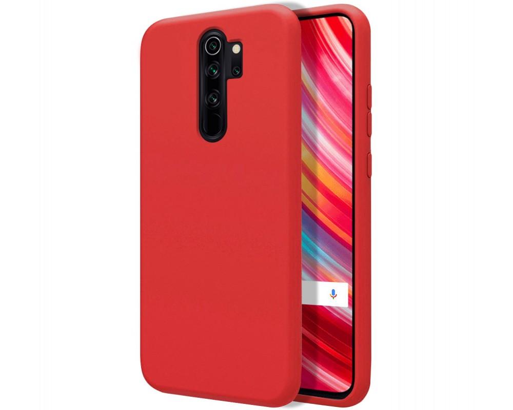 Funda Silicona Líquida Ultra Suave para Xiaomi Redmi Note 8 Pro color Roja
