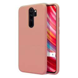 Funda Silicona Líquida Ultra Suave para Xiaomi Redmi Note 8 Pro color Rosa