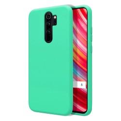 Funda Silicona Líquida Ultra Suave para Xiaomi Redmi Note 8 Pro color Verde