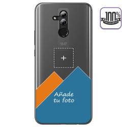 Personaliza tu Funda Gel 100% Transparente con tu Fotografia para Huawei Mate 20 Lite dibujo personalizada